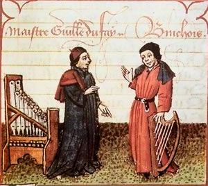 Guillaume Dufay and Binchois