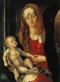 Virgin and Child by Durer